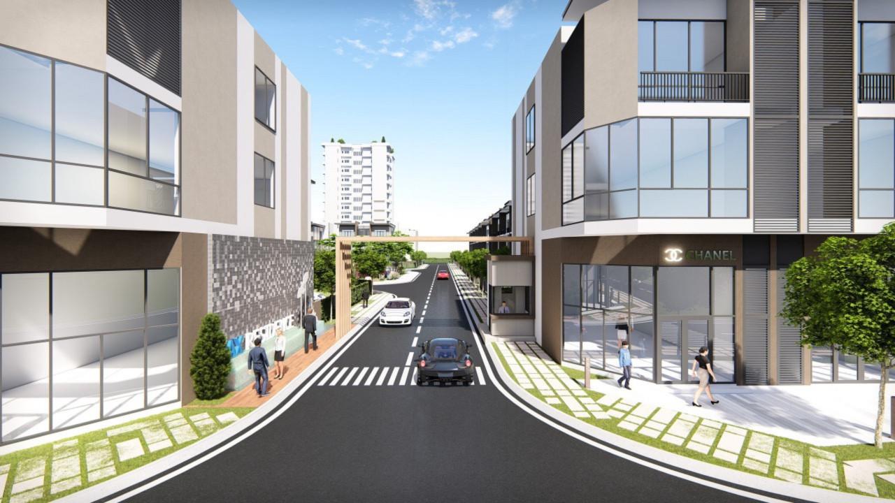 Phối cảnh đường nội khu Pax Residence