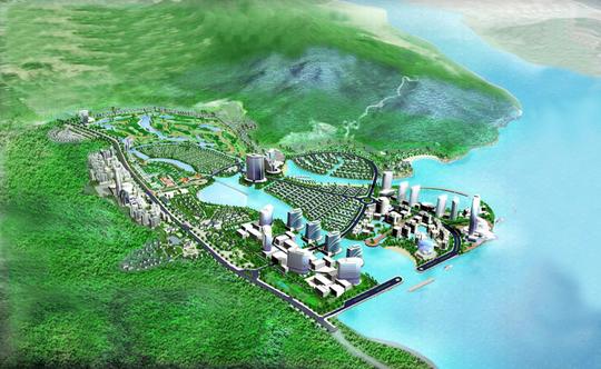 Phối cảnh tổng thể dự án nghỉ dưỡng Diamond Bay Condotel Resort Nha Trang