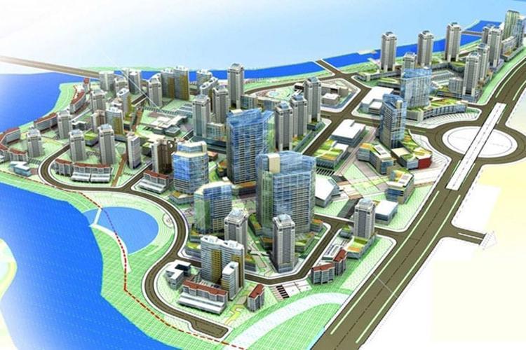 Phối cảnh tổng thể dự án Gs Metrocity Nhà Bè