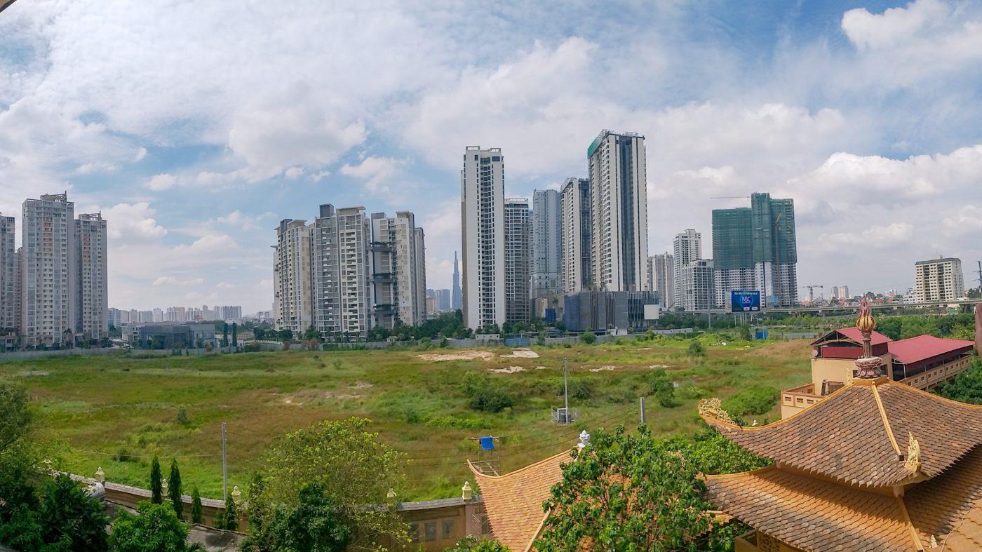 Thực tế khu đất xây dựng dự án The Palace Residence quận 2