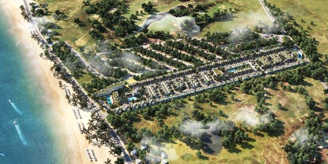 Phối cảnh tổng thể dự án biệt thự Goldsand Hill Villa Mũi Né