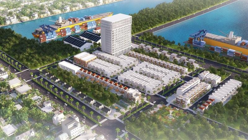 Phối cảnh khu dân cư Harbor Center Bà Rịa – Vũng Tàu