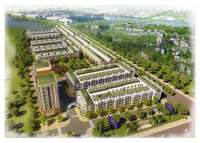 Phối cảnh khu đô thị T&T Phố Nối tỉnh Hưng Yên