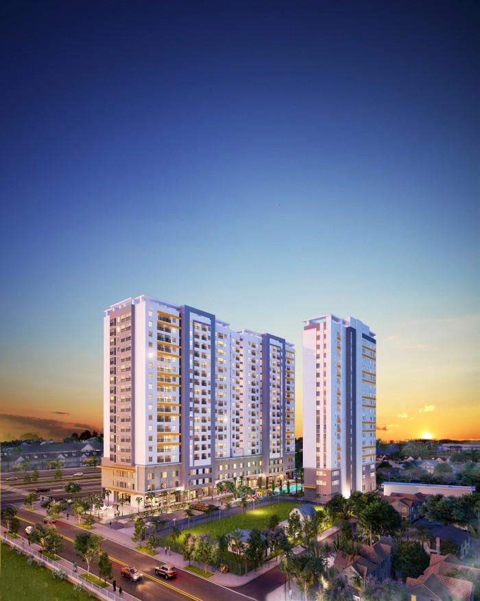 Phối cảnh tổng thể dự án Moonlight Park View quận Bình Tân