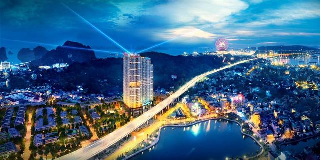 Phối cảnh tổng thể dự án Ramada by Windham Ha Long Bay View