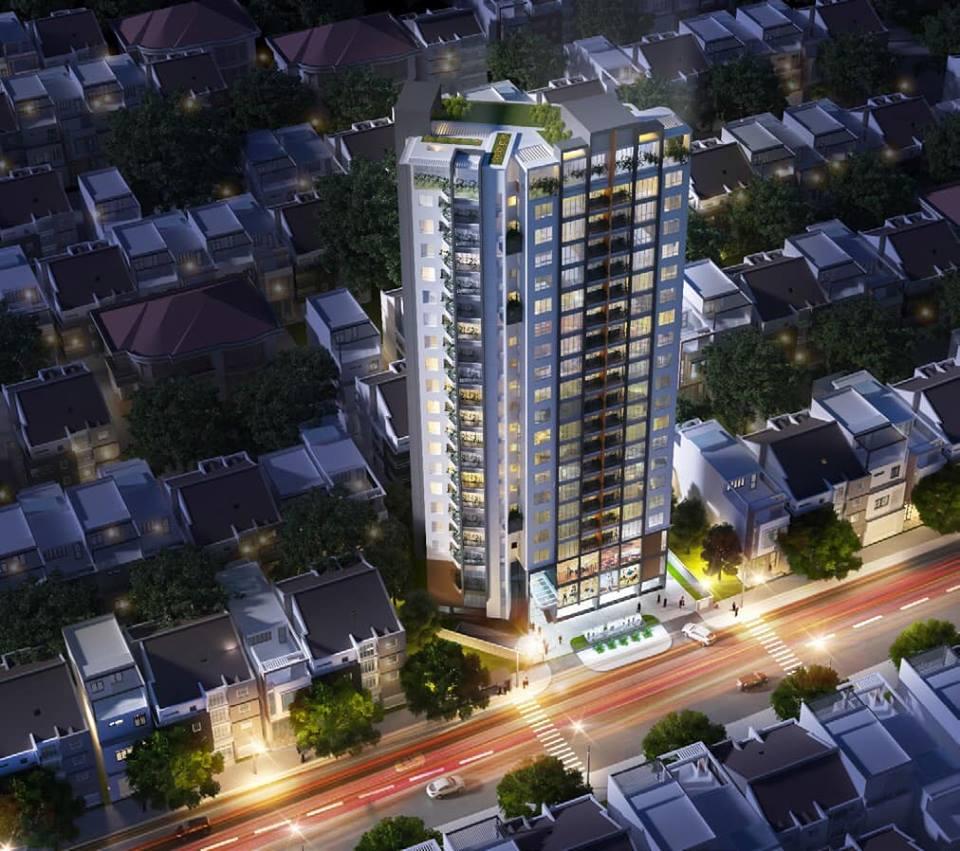 Phối cảnh tổng thể dự án căn hộ The Penta