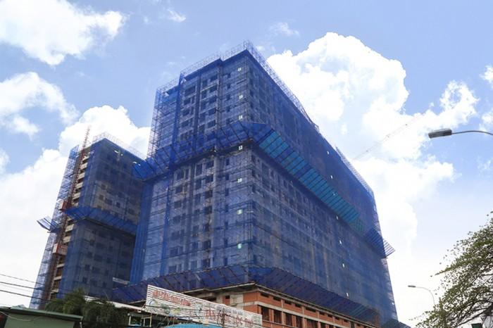 Thực tế tiến độ xây dựng block A và B dự án Moonlight Park View quận Bình Tân