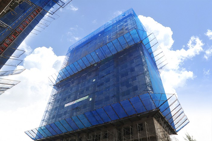 Thực tế tiến độ xây dựng block C dự án Moonlight Park View quận Bình Tân