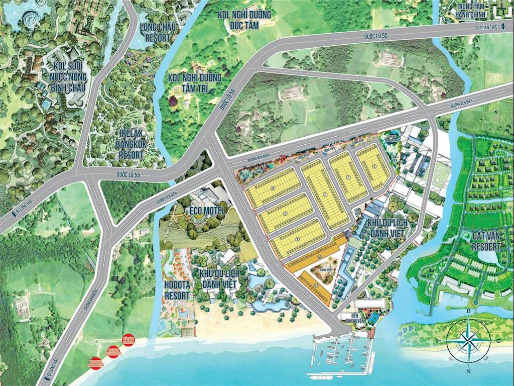 Mặt bằng tổng thể dự án Ocean Gate Bà Rịa – Vũng Tàu