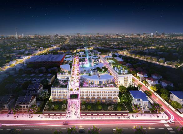 Phối cảnh tổng thể dự án D – One quận Gò Vấp