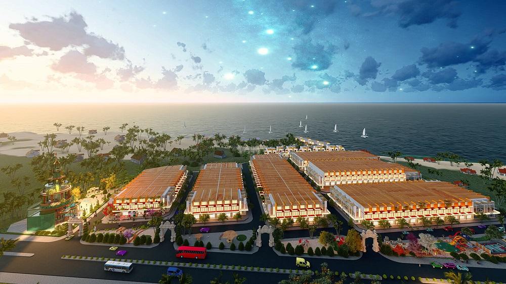 Phối cảnh dự án khu đô thị Ocean Gate Bà Rịa – Vũng Tàu