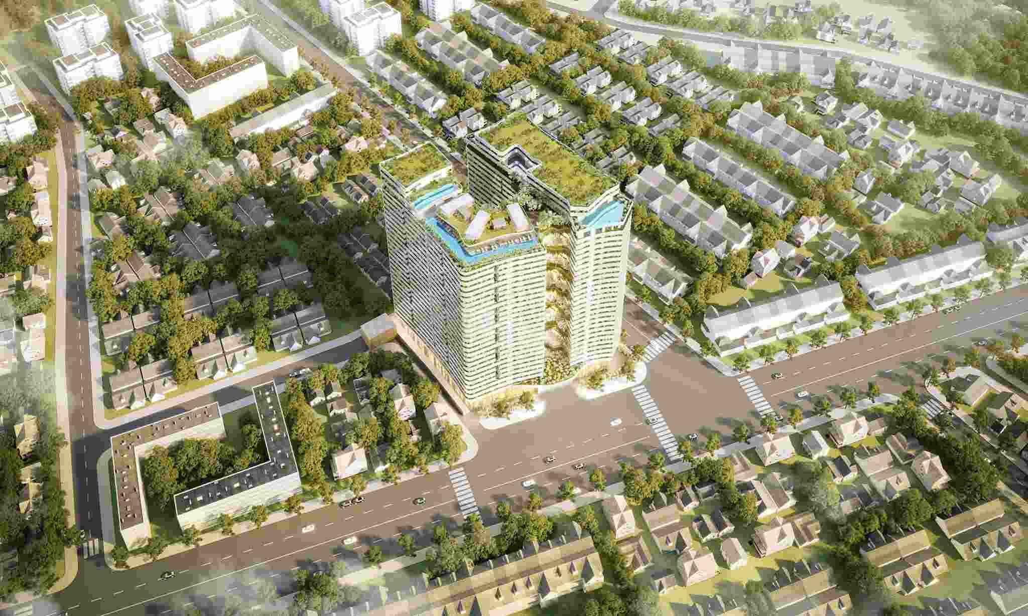 Phối cảnh dự án căn hộ Victoria Garden quận Bình Tân