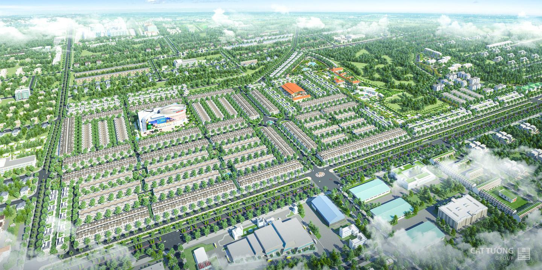 Phối cảnh khu đô thị Cát Tường Phú Hưng tỉnh Bình Phước