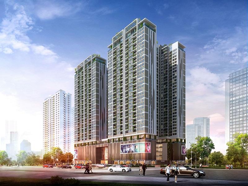 Phối cảnh dự án chung cư 6th Element Hà Nội