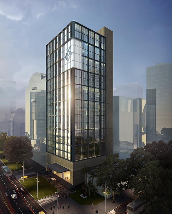 Phối cảnh dự án cao ốc Friendship Tower quận 1