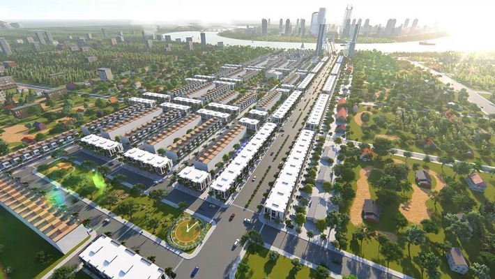 Phối cảnh tổng thể dự án đất nền Bách Đạt Riverside tỉnh Quảng Nam