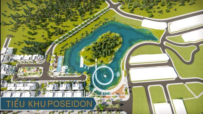 Phối cảnh tiểu khu Poseidon – tiểu khu cuối cùng trong khuôn viên Thái Hưng Eco City