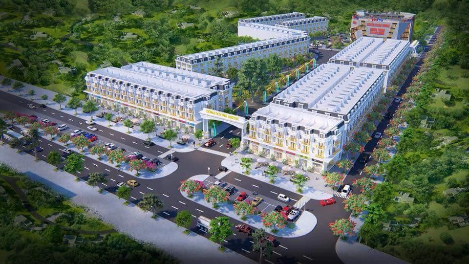 Phối cảnh tổng thể dự án Đông Dương Green