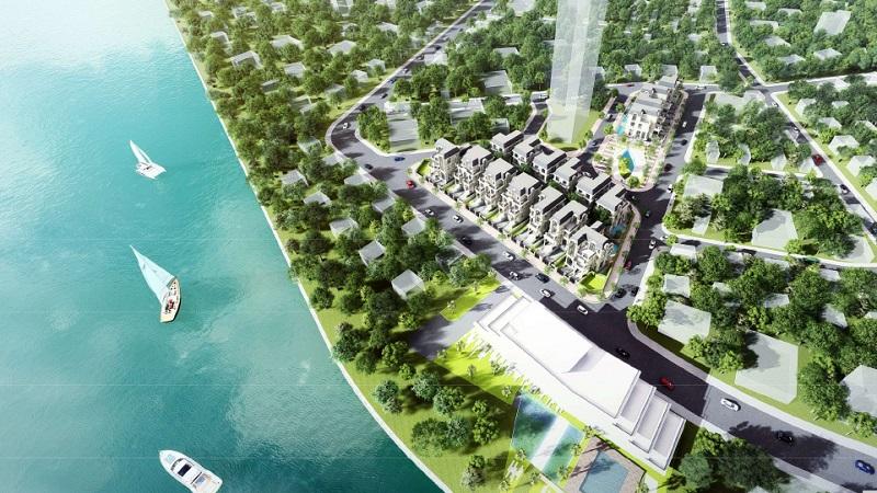Phối cảnh tổng thể dự án King Crown Village quận 2