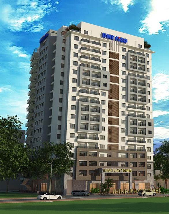 Phối cảnh căn hộ condotel Thịnh Phát Tower