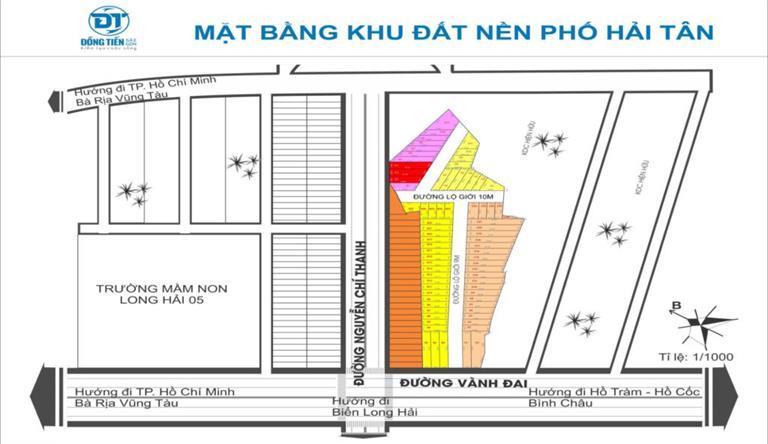 Khu dân cư Galaxy Long Hải Village Bà Rịa – Vũng Tàu