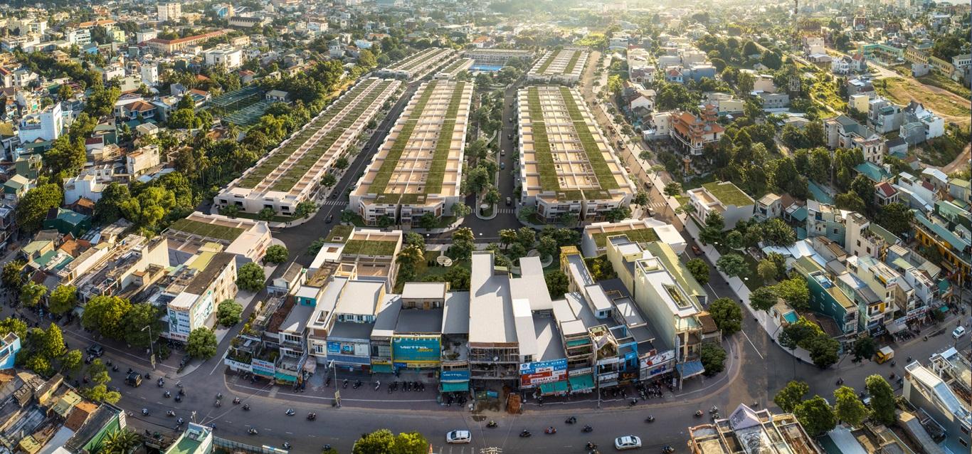 Phối cảnh tổng thể dự án khu dân cư Phát Đạt Bàu Cả Quãng Ngãi