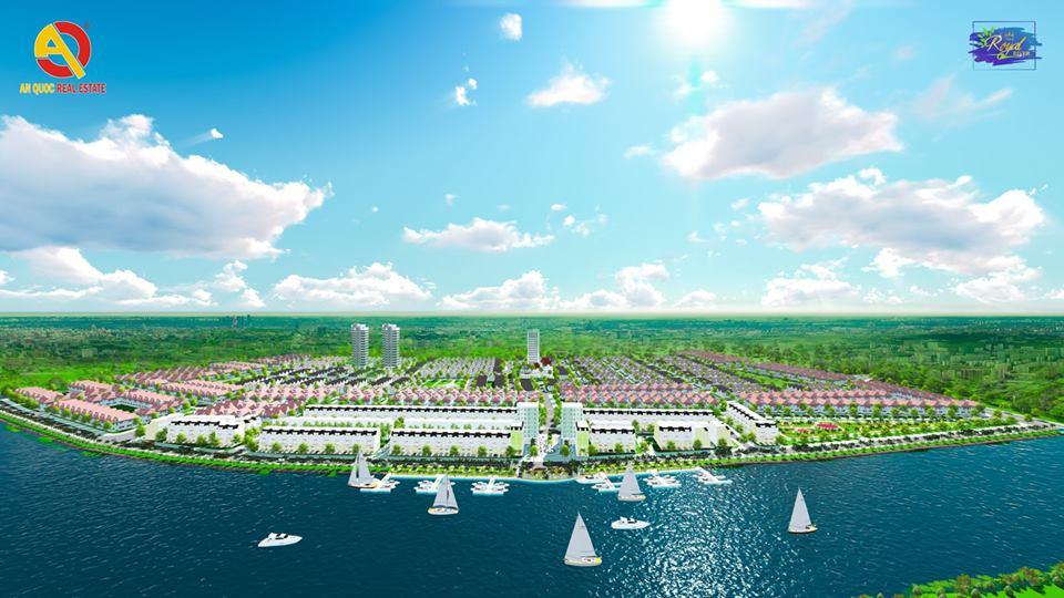 Phối cảnh tổng thể dự án The Royal River Quảng Nam