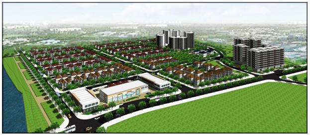 Phối cảnh dự án khu dân cư Tiến Lộc Garden Đồng Nai