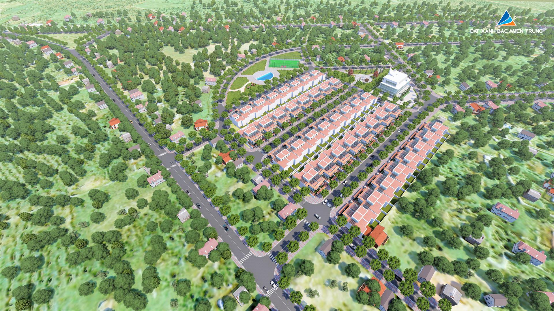 Phối cảnh dự án Eco Garden Đồng Hới
