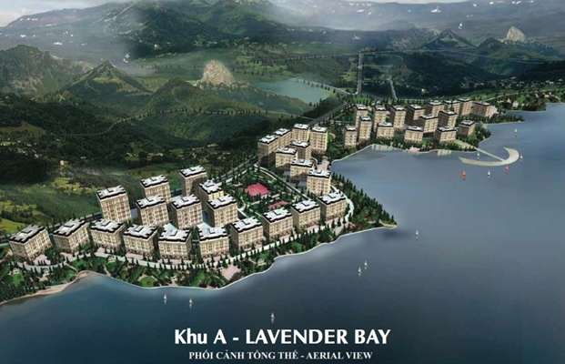 Phối cảnh khu A – Lavender Bay