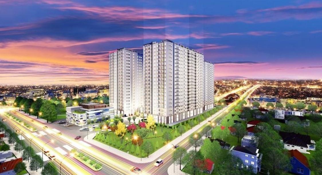 Phối cảnh tổng thể dự án Teco Vina Garden quận 9
