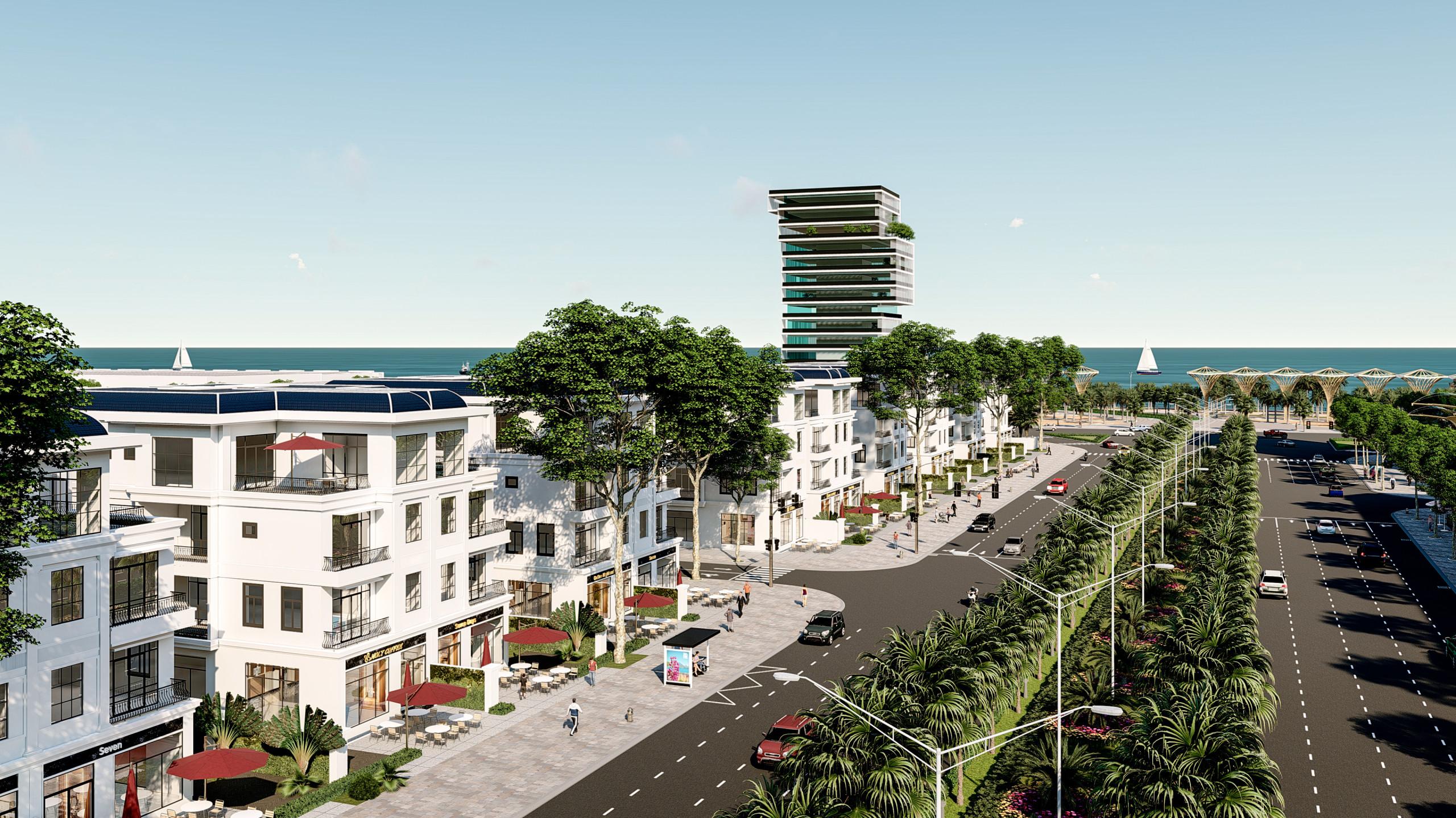 Phối cảnh dự án The One Beach Đà Nẵng