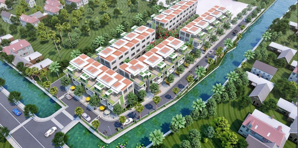 Phối cảnh dự án khu dân cư The Residence 2 Củ Chi