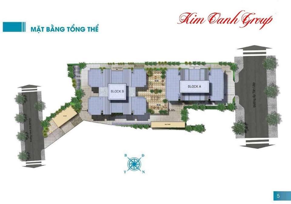Mặt bằng tổng thể dự án căn hộ The EastGate