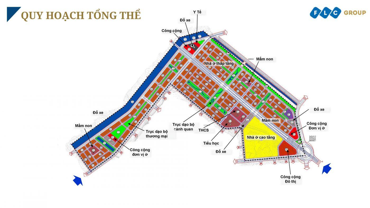 Mặt bằng tổng thể dự án nghỉ dưỡng FLC Tropical City Hạ Long
