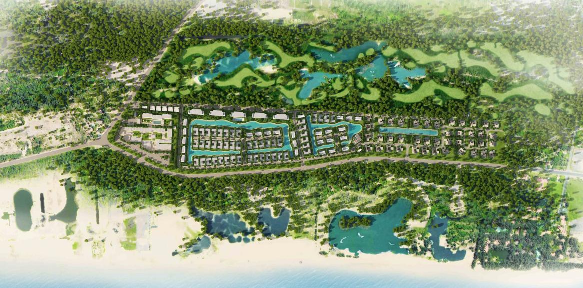 Mặt bằng tổng thể dự án Coastar Estate