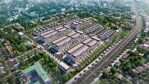 Phối cảnh tổng thể dự án Central City