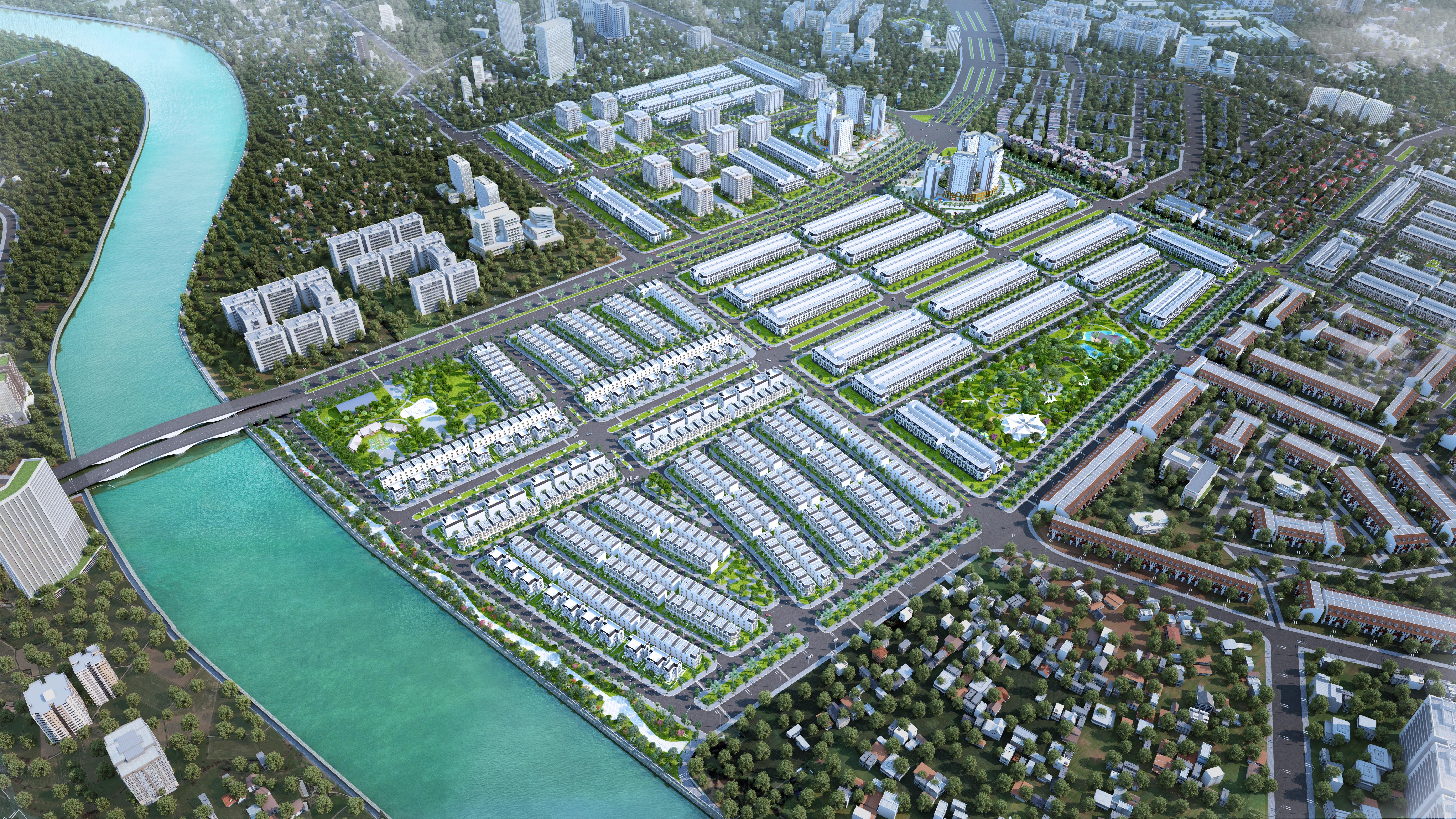Khu đô thị La Villa Green City tỉnh Long An