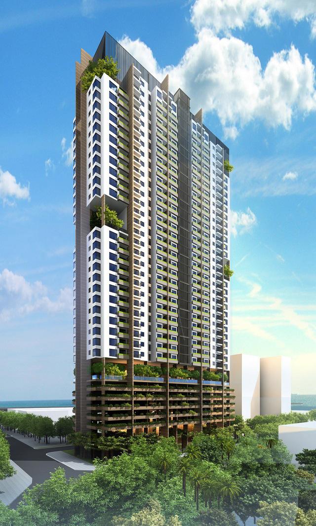 Phối cảnh tổng thể dự án căn hộ FLC Green Apartment Hà Nội
