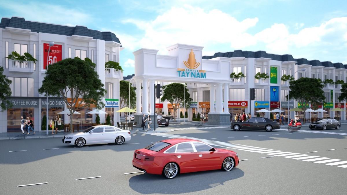Phối cảnh dự án khu đô thị Tây Nam Center