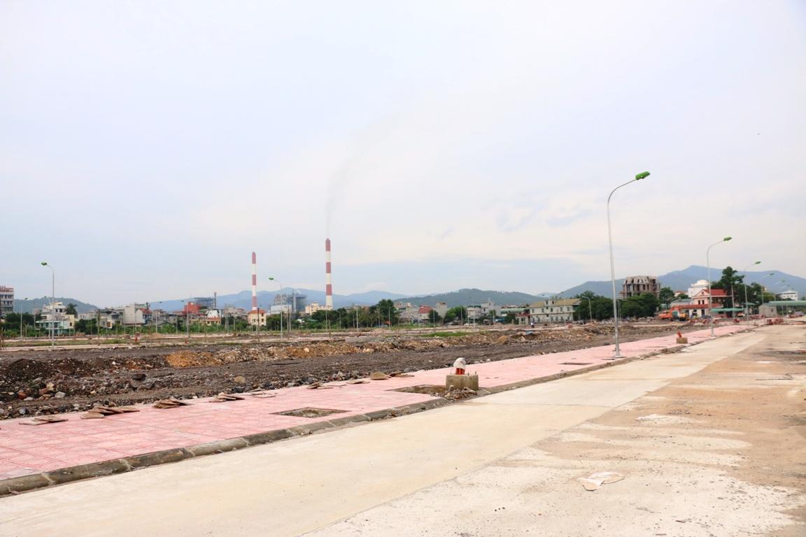 Thực tế hệ thống đường sá tại dự án khu đô thị Central City