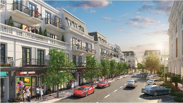 Phối cảnh một phần dự án khu đô thị Long Tân City