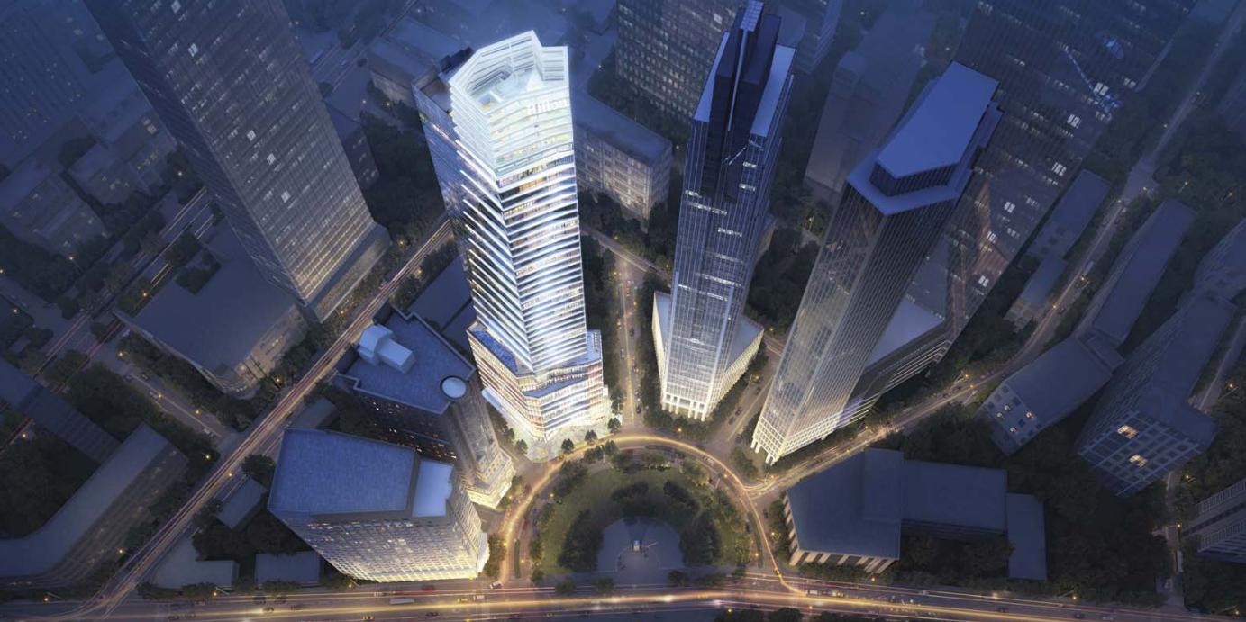 Phối cảnh dự án khách sạn Hilton Sài Gòn quận 1