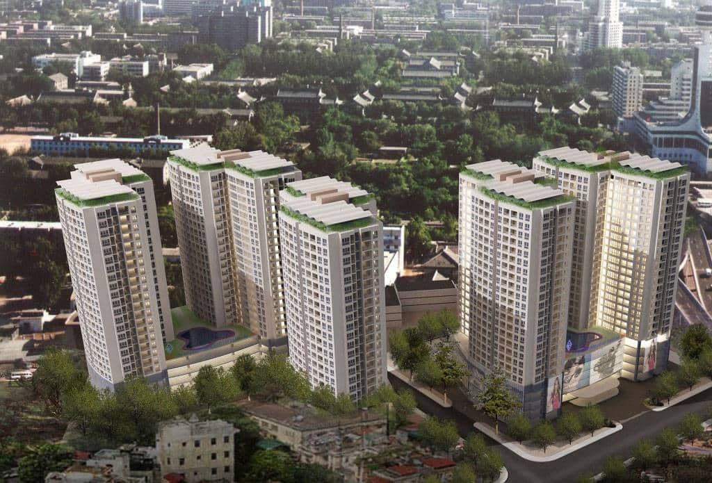 Phối cảnh tổng thể dự án căn hộ BMC Lũy Bán Bích