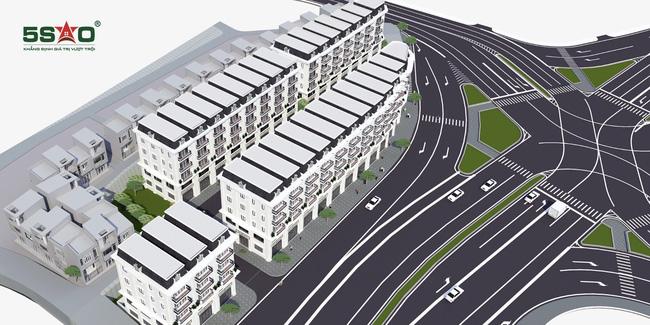 Phối cảnh tổng thể dự án nhà phố thương mại Loong Toong Quảng Ninh