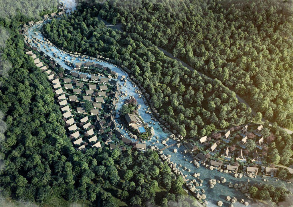 Phối cảnh dự án Bạch Mã Hill Spring Resort