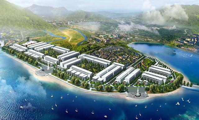 Phối cảnh tổng thể dự án khu đô thị Vịnh Xuân Đài