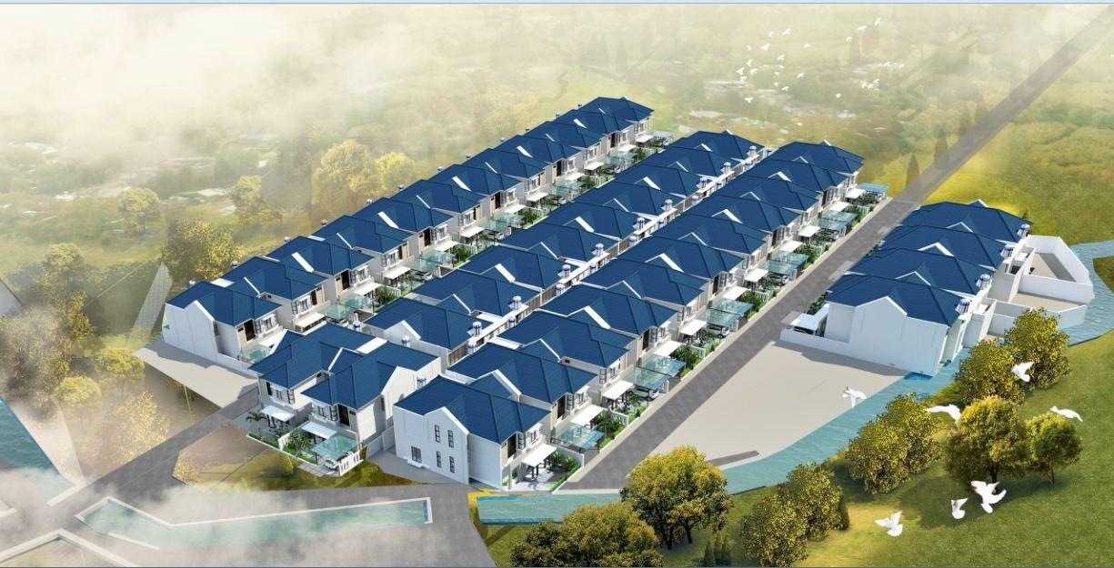 Phối cảnh tổng thể dự án khu dân cư Phước Hòa Golden Land