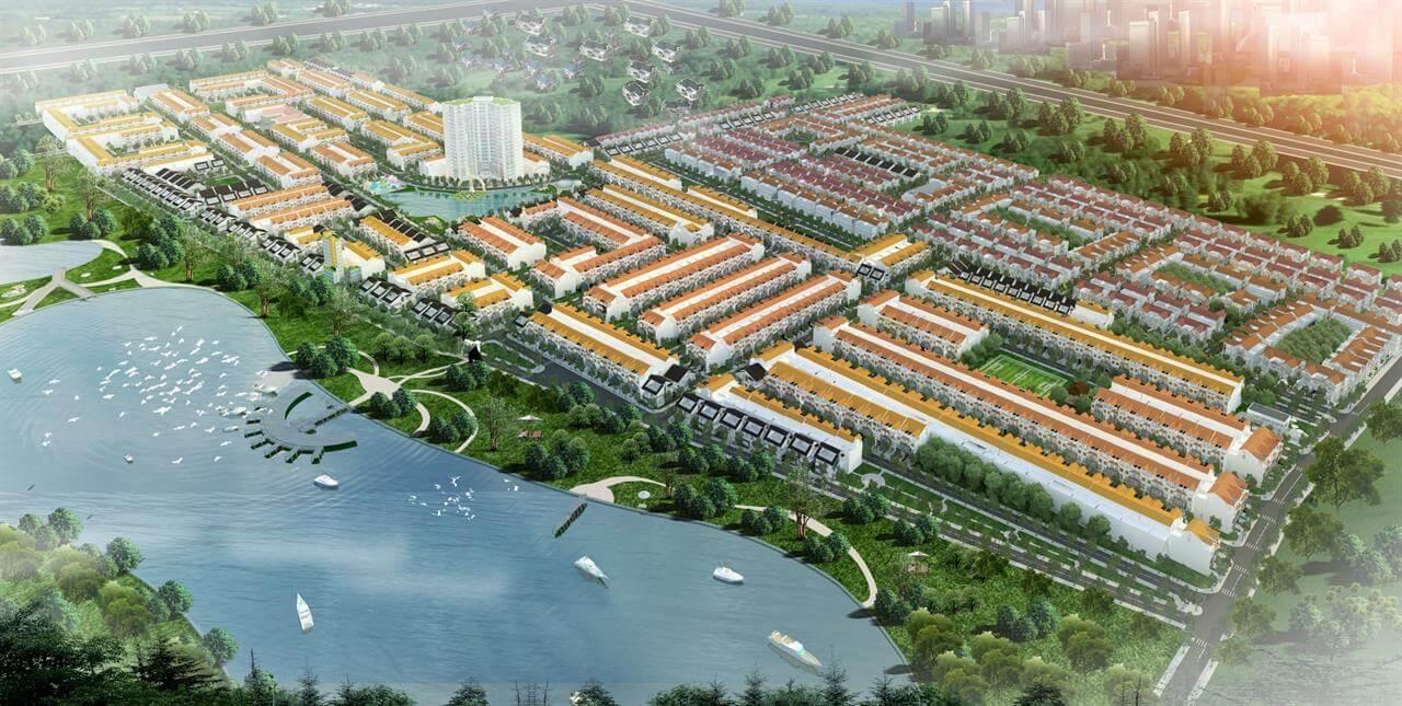 Phối cảnh tổng thể dự án khu dân cư Bảo Ngọc Long An