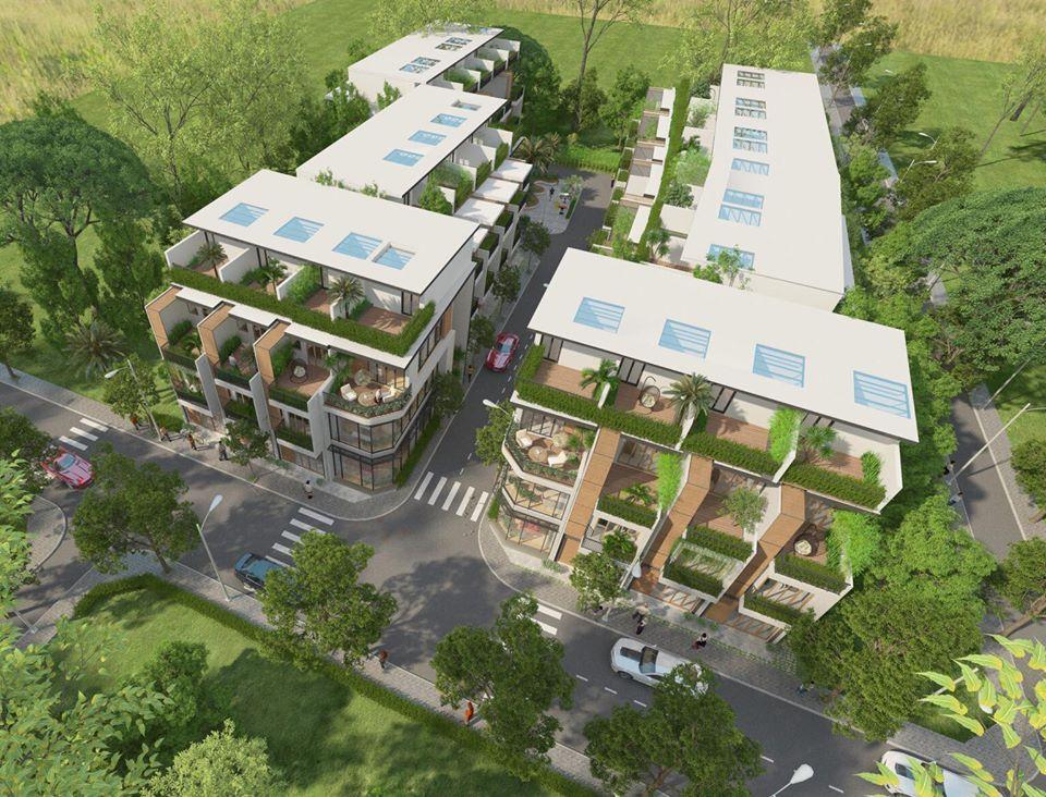 Phối cảnh dự án khu dân cư An Lạc Phát Bình Tân